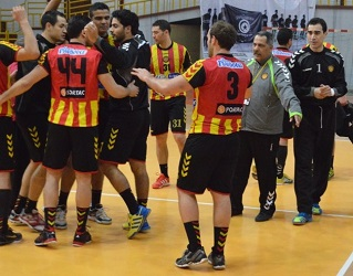Handball l 39 esp rance remporte la coupe d 39 afrique en battant al ahly sur le fil - Coupe d afrique handball ...