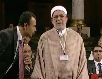 Abdelfattah Mourou. 4 décembre 2014. ARP. Bardo.  Webdo.tn