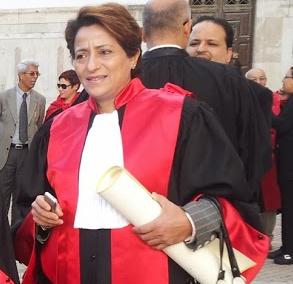 Raoudha Karafi.  Photo : Lilia Weslaty