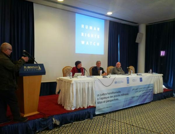 """Conférence de presse : """"La justice transitionnelle en Tunisie à l'épreuve des procès militaires : Bilan et perspectives"""" / Lilia Weslaty  Webdo.tn"""