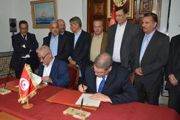 Accord entre l'UGTT et la présidence du Gouvernement