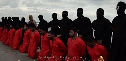 21 Egyptiens coptes exécutés par l'organisation terroriste Daech en Libye