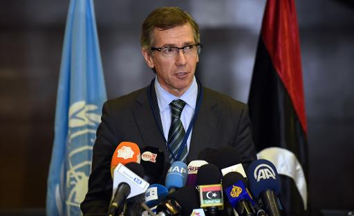 Bernardino Leon emissaire ONU en Libye - AFP