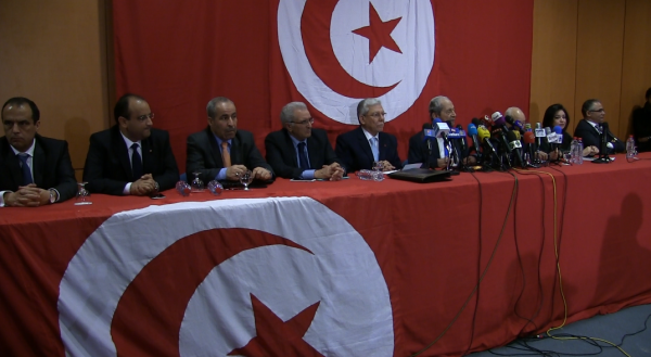 Conférence de presse du CC de Nidaa Tounes 13 mars 2015 Tunis  WEBDO.tn