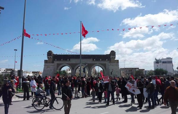 Bab Saadoun. Tunis WEBDO.tn   Lilia Weslaty