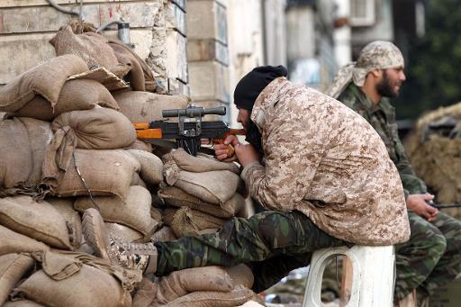 Soldat libyen - afp.com  Abdullah Doma