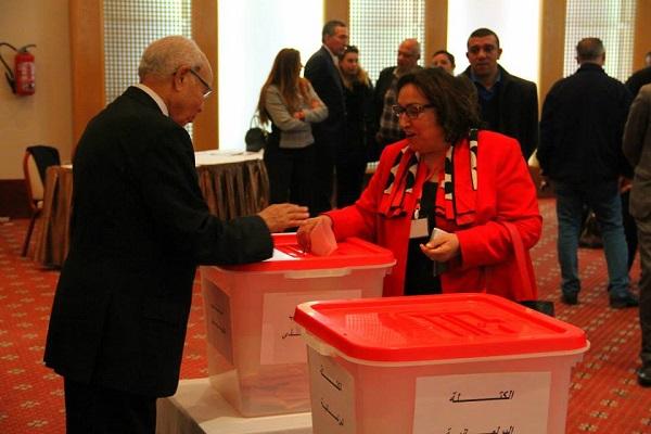 election bureau politique nidaa tounes