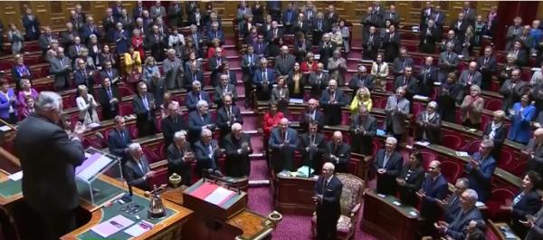 Béji Caid Essebsi au Sénat français