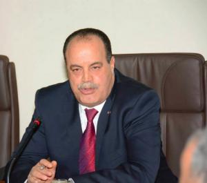 Najem Gharsalli, ministre de l'intérieur tunisien