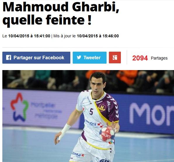 Mahmoud Gharbi - LEquipe