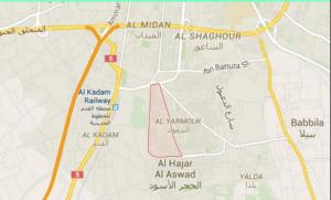 Yarmouk Map