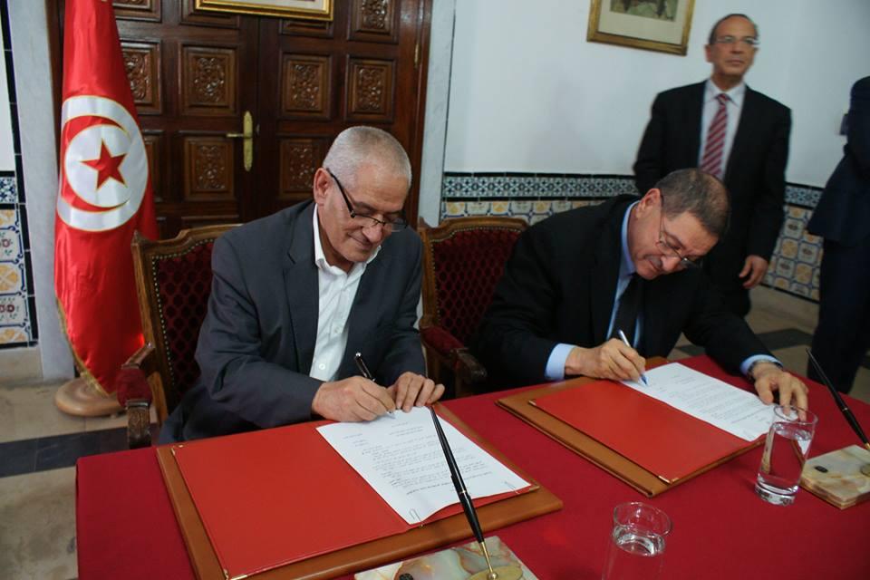 Signature de l'accord sur l'augmentation salariale pour l'année 2014