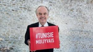 frédéric mitterand tunisie moi j'y vais pub