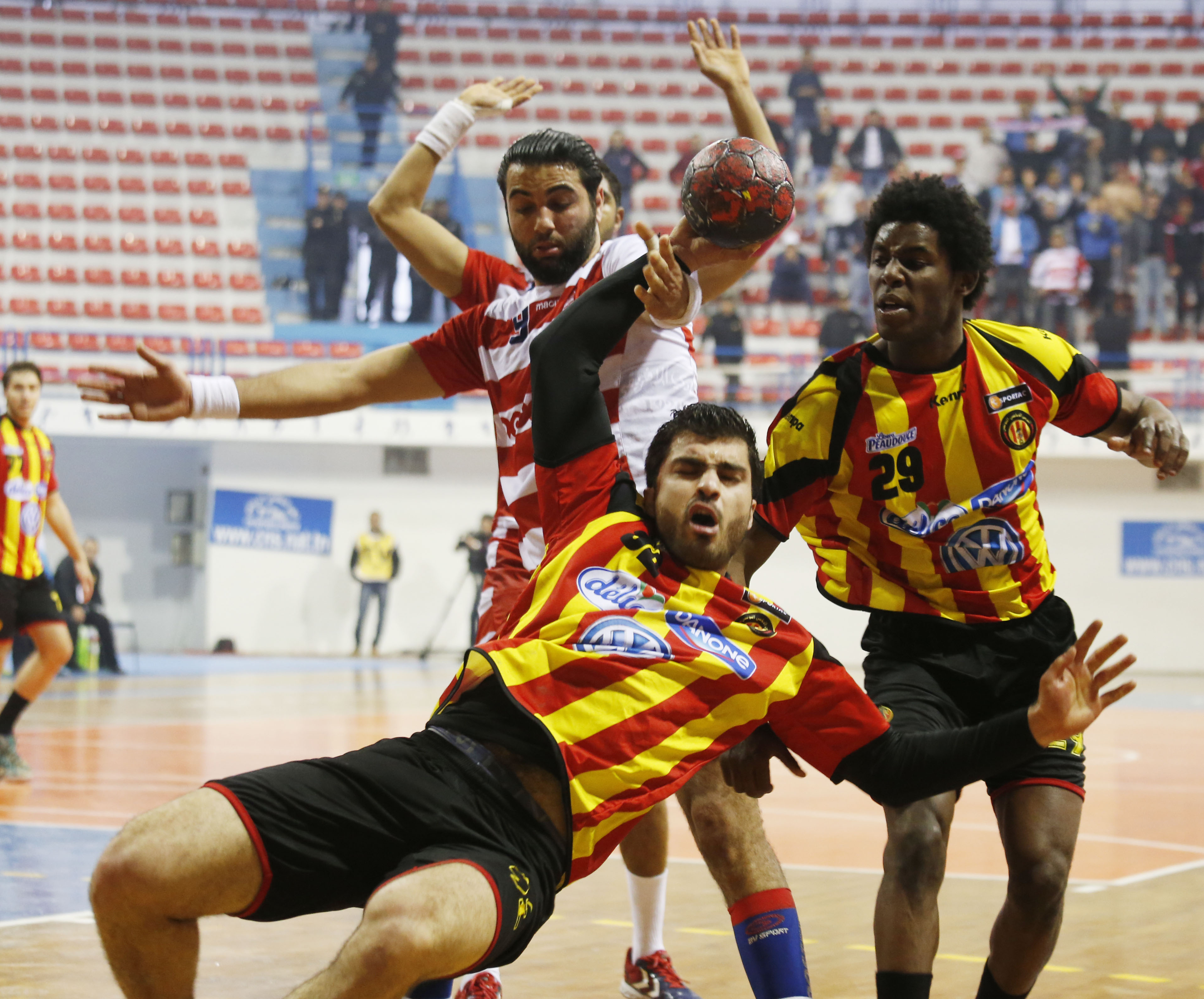 Handball super coupe et cacvc le derby de la capitale libreville - Coupe d afrique handball ...