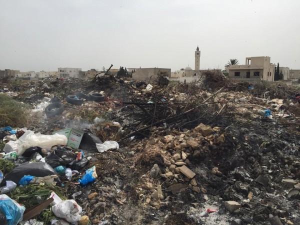 Décharge municipale Ezzahra | Photo : Mohamed Ali Sghaier