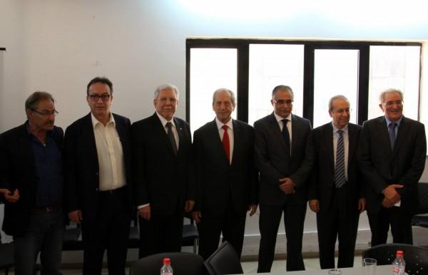 Mohsen Marzouk nouveau secrétaire général de Nidaa Tounes   Photo : Facebook