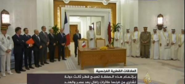 Signature de l'accord pour la vente de 24 avions Rafale au Qatar | Al Jazeera