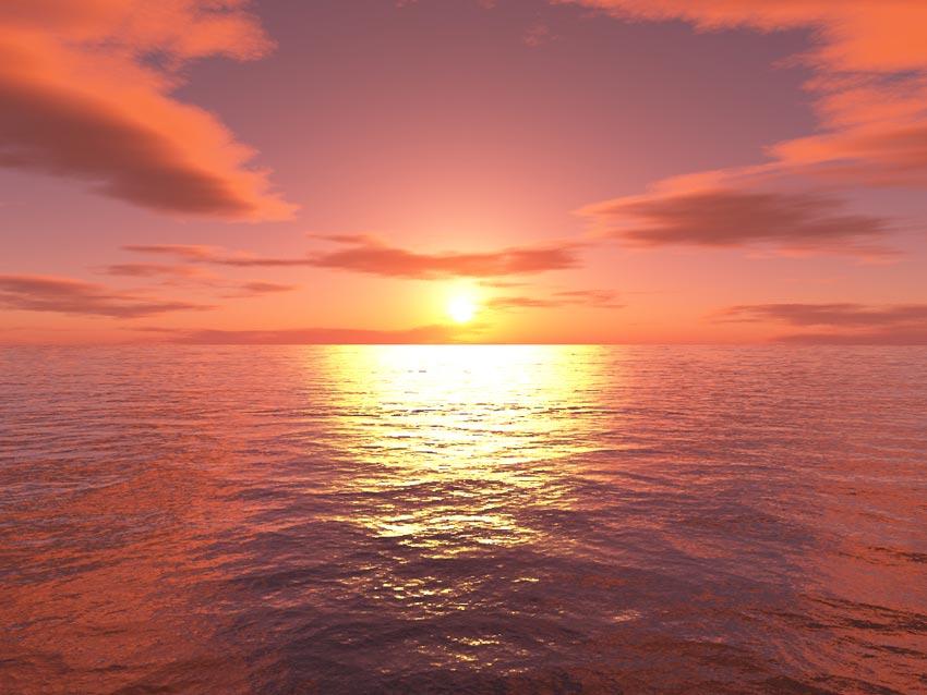 Le ramadan au cercle polaire quand le soleil ne se - Lever et coucher du soleil est ouest ...