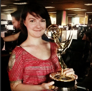 Katherine Chappell aux Emmy Awards