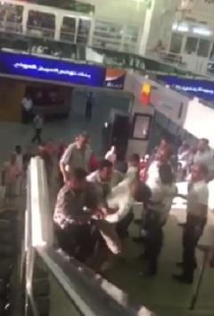 tabassage par la police tunisienne d'un citoyen sénégalais