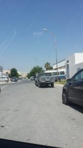 Les forces de l'ordre devant le siège de Zitouna TV