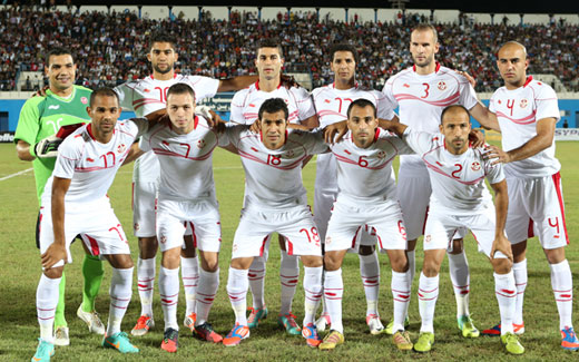 TUNISIE TNV45298selectiontunisiennedefootball