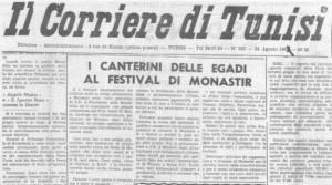 IL Corriere di Tunisi