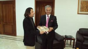 Omar Mansour (à droite)