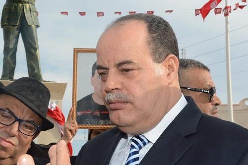 L\'ancien ministre de l\'Intérieur Najem Gharsalli devant le tribunal ...