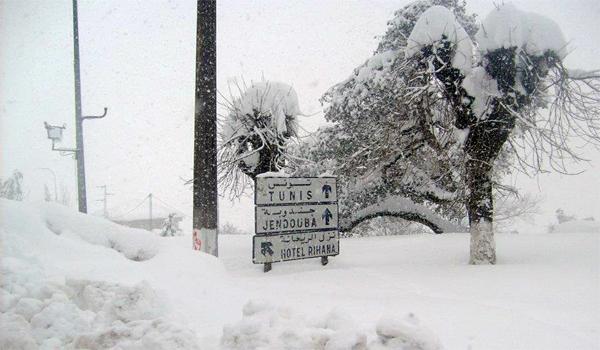 neige tunisie