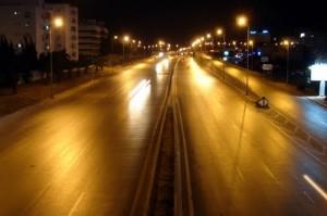 rue de tunis déserte