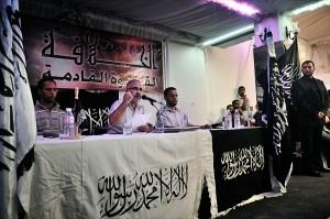 Ridha bil hadj, chef de hezbt harir, parti salafiste tunisien