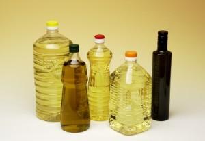 Bouteilles de huile végétale (Photo d'illustration)