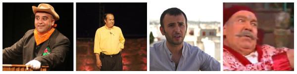 Jaafer Gasmi, Lamine Nahdi, Lotfi Abdelli et Hamda Ben Tijani