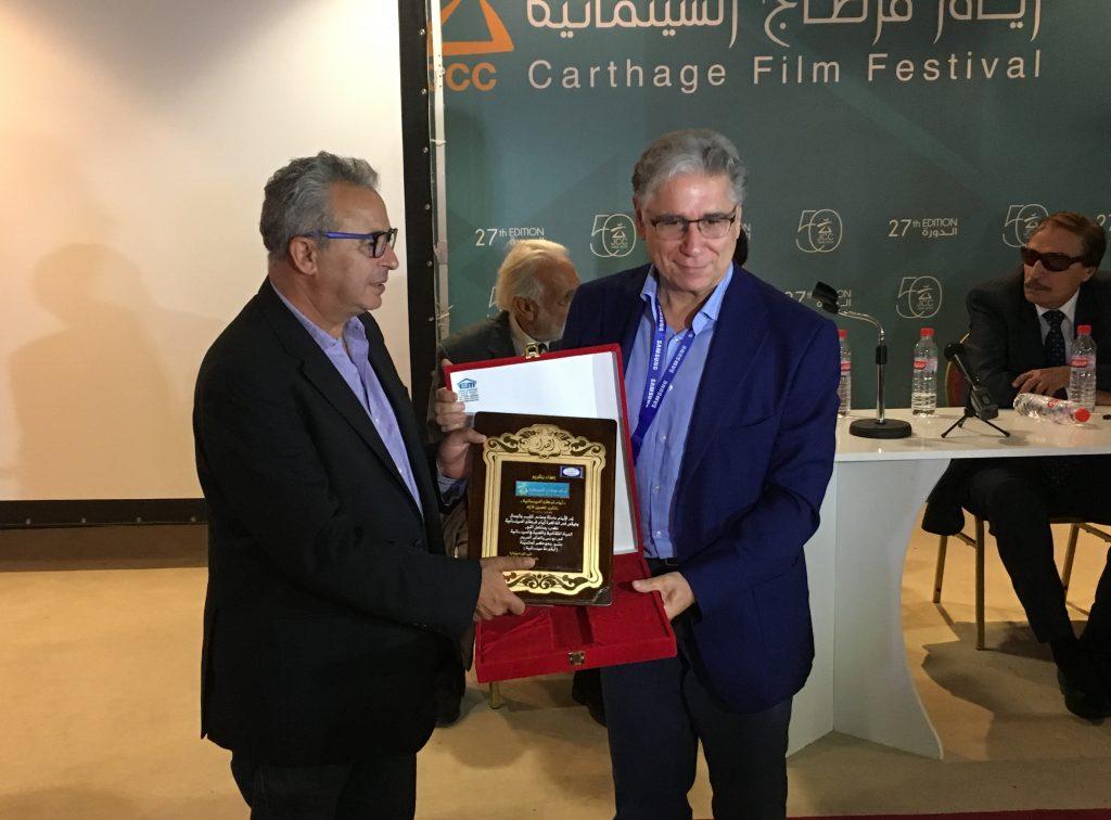 Le syndicat des cinéastes égyptiens honore Brahim Letaief