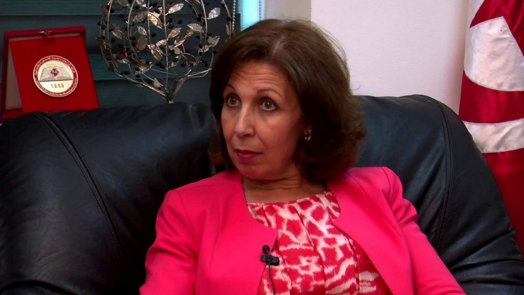 Lamia Zribi, ministre des Finances (photo - L'economiste Maghrébin)