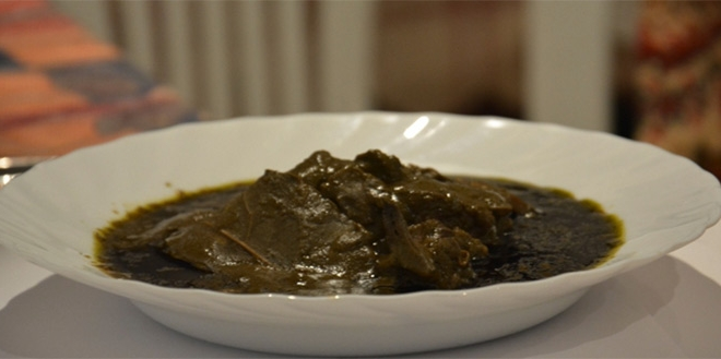 Quand le plat de mloukhiya tunisienne est vendu 31 euros paris - Cuisine tunisienne mloukhia ...