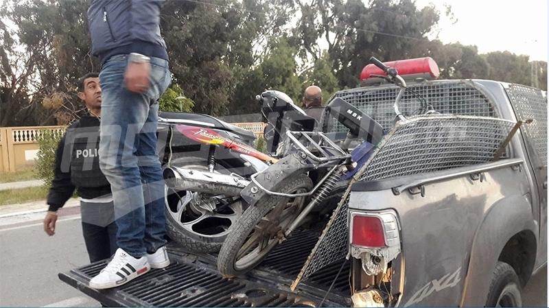 Kébili : les terroristes ont utilisé deux motos équipées de bombes artisanales