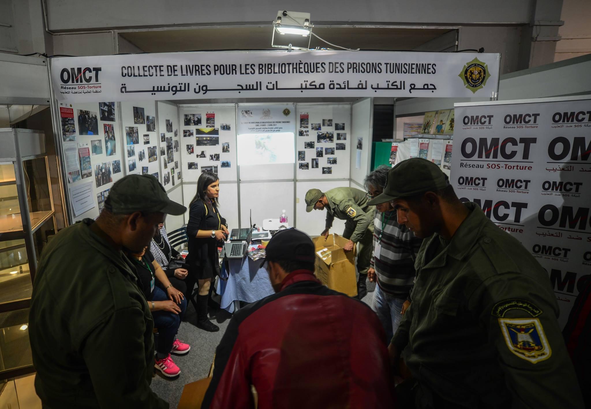 la collecte de livres pour les prisons tunisiennes cette success story sign e ben mhenni. Black Bedroom Furniture Sets. Home Design Ideas