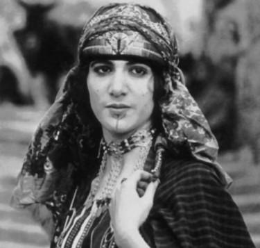 Haydée Chikli Tamzali, actrice tunisienne juive.