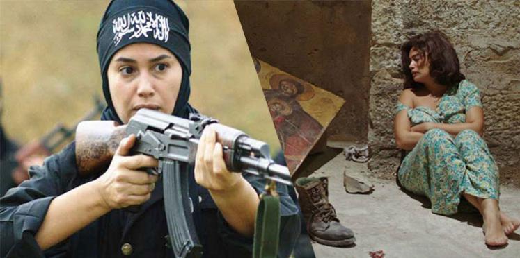 Hend Sabry dans le film Zahret Alep
