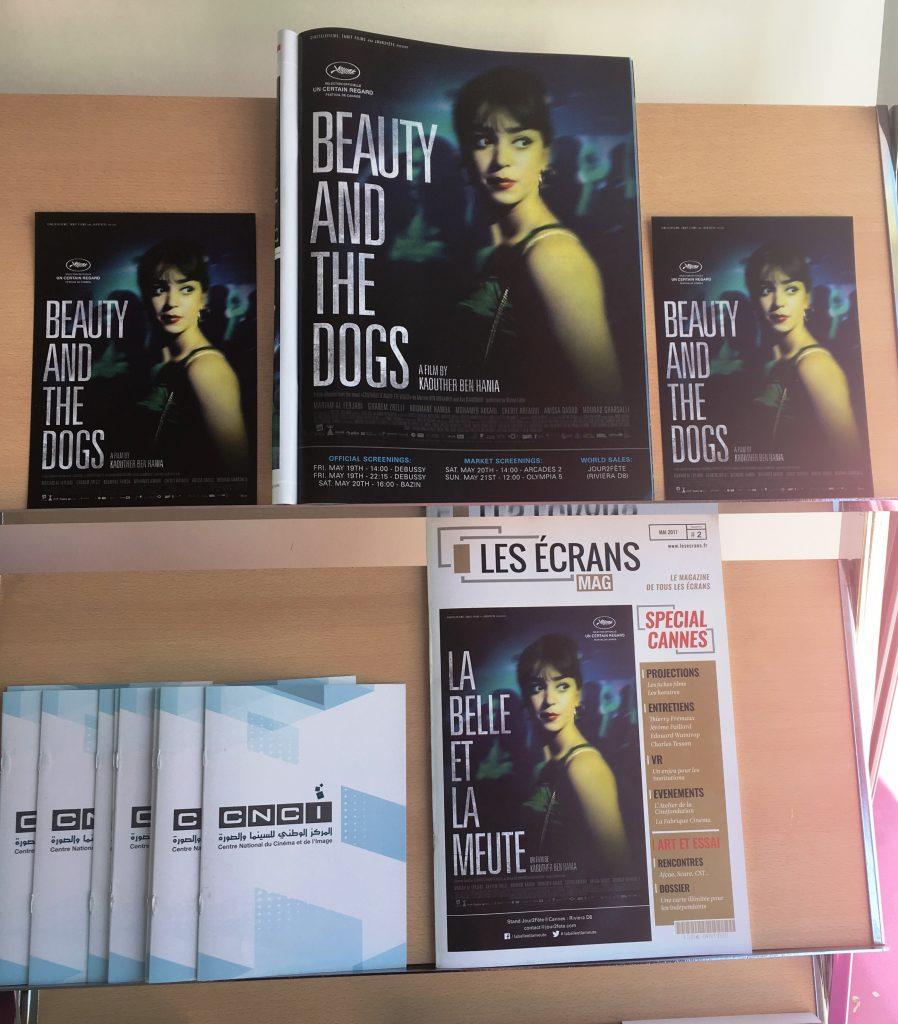 La Belle et la Meute en couverture du magazine Les Ecrans
