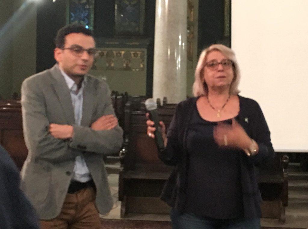 Amir Ramses et Magda Haroun Shehata