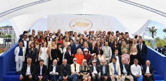 Photo de famille du 70e anniversaire du Festival de Cannes