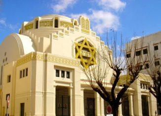 La Grande Synagogue de Tunis.