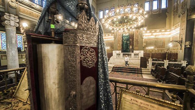 Synagogue Cha'ar HaChamaïm du Caire.