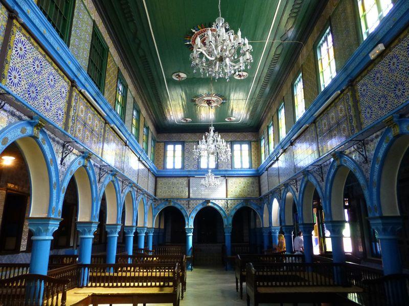 La Synagogue de la Ghriba de Djerba.