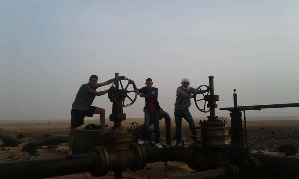 La production de pétrole à l'arrêt dans deux régions tunisiennes