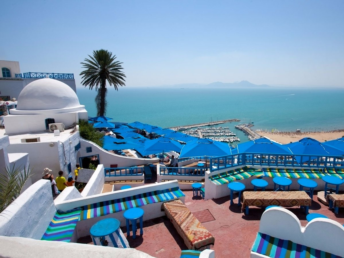 Sidi bou sa d choisi parmi les plus beaux villages du monde for Salon 9 places tunisie