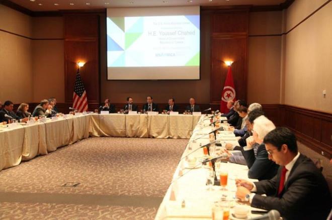 Des hommes d affaires am ricains veulent investir for Chambre de commerce en tunisie